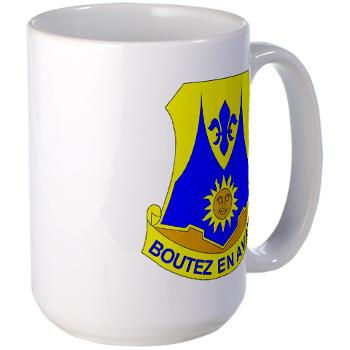 2B356R - M01 - 03 - DUI - 2nd Bn - 356th Regiment (LSB) Large Mug