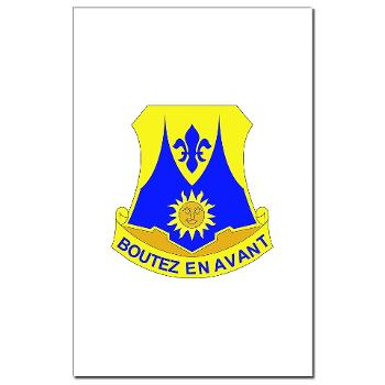 2B356R - M01 - 02 - DUI - 2nd Bn - 356th Regiment (LSB) Mini Poster Print