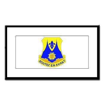2B356R - M01 - 02 - DUI - 2nd Bn - 356th Regiment (LSB) Small Framed Print