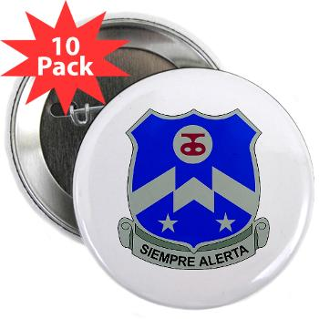 "2B357IR - M01 - 01 - DUI - 2nd Bn - 357th Infantry Regiment 2.25"" Button (10 pack)"