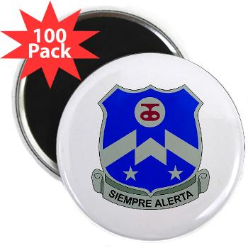 "2B357IR - M01 - 01 - DUI - 2nd Bn - 357th Infantry Regiment 2.25"" Magnet (100 pack)"