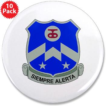 "2B357IR - M01 - 01 - DUI - 2nd Bn - 357th Infantry Regiment 3.5"" Button (10 pack)"