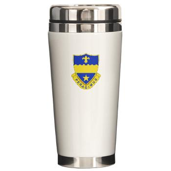 2B358AR - M01 - 03 - DUI - 2nd Bn - 358th Armor Regiment Ceramic Travel Mug