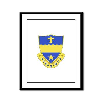 2B358AR - M01 - 02 - DUI - 2nd Bn - 358th Armor Regiment Framed Panel Print
