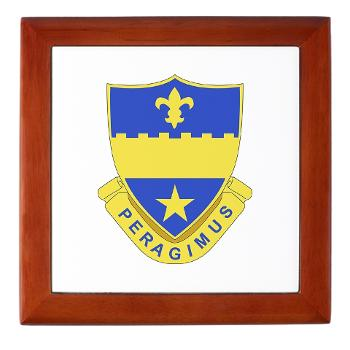 2B358AR - M01 - 03 - DUI - 2nd Bn - 358th Armor Regiment Keepsake Box