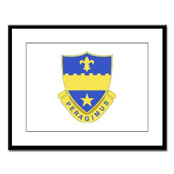 2B358AR - M01 - 02 - DUI - 2nd Bn - 358th Armor Regiment Large Framed Print