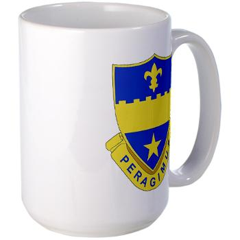 2B358AR - M01 - 03 - DUI - 2nd Bn - 358th Armor Regiment Large Mug