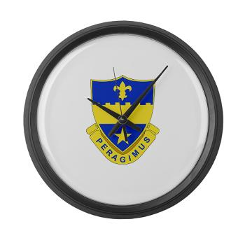 2B358AR - M01 - 03 - DUI - 2nd Bn - 358th Armor Regiment Large Wall Clock