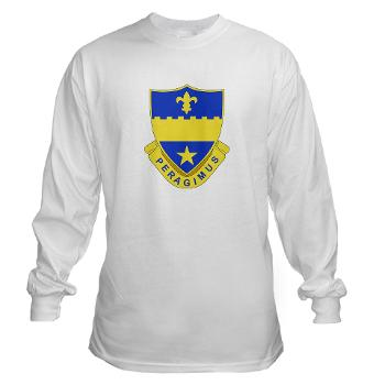 2B358AR - A01 - 03 - DUI - 2nd Bn - 358th Armor Regiment Long Sleeve T-Shirt