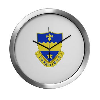2B358AR - M01 - 03 - DUI - 2nd Bn - 358th Armor Regiment Modern Wall Clock
