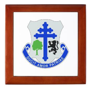 2B361R - M01 - 03 - DUI - 2nd Bn - 361st Regiment(CS/CSS) Keepsake Box