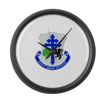 2B361R - M01 - 03 - DUI - 2nd Bn - 361st Regiment(CS/CSS) Large Wall Clock