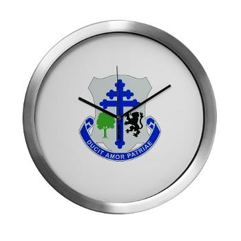 2B361R - M01 - 03 - DUI - 2nd Bn - 361st Regiment(CS/CSS) Modern Wall Clock