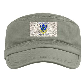 2B362R - A01 - 01 - DUI - 2nd Bn - 362nd FA Regt with Text - Military Cap