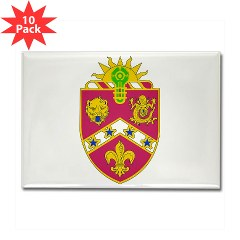 2B3FAR - M01 - 01 - DUI - 2nd Battalion - 3rd Field Artillery Regiment Rectangle Magnet (10 pack)
