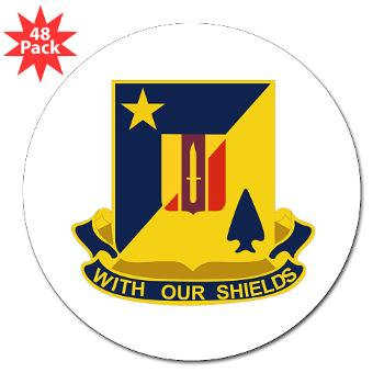 "2B5BC - M01 - 01 - DUI - 2nd Bn 5th Brigade Combat Team 3"" Lapel Sticker (48 pk)"