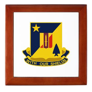 2B5BC - M01 - 03 - DUI - 2nd Bn 5th Brigade Combat Team Keepsake Box