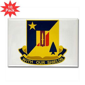 2B5BC - M01 - 01 - DUI - 2nd Bn 5th Brigade Combat Team Rectangle Magnet (10 pack)