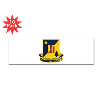 2B5BC - M01 - 01 - DUI - 2nd Bn 5th Brigade Combat Team Sticker (Bumper 10 pk)