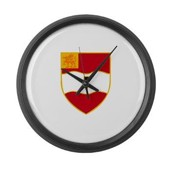 2B82FAR - M01 - 03 - DUI - 2nd Bn - 82nd FA Regt - Large Wall Clock