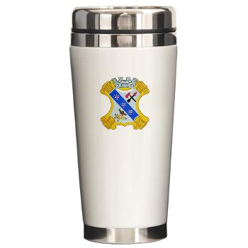 2B8IR - M01 - 03 - DUI - 2nd Bn - 8th Infantry Regt Ceramic Travel Mug