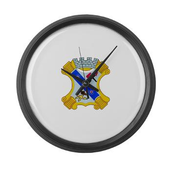 2B8IR - M01 - 03 - DUI - 2nd Bn - 8th Infantry Regt Large Wall Clock
