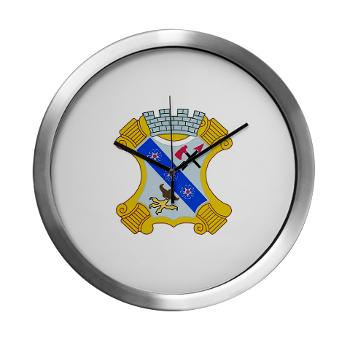 2B8IR - M01 - 03 - DUI - 2nd Bn - 8th Infantry Regt Modern Wall Clock