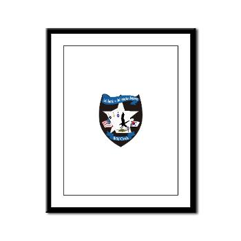 2BA2AR - M01 - 02 - DUI - 2nd Bn (Assault) - 2nd Avn Regt - Framed Panel Print