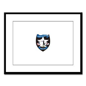 2BA2AR - M01 - 02 - DUI - 2nd Bn (Assault) - 2nd Avn Regt - Large Framed Print