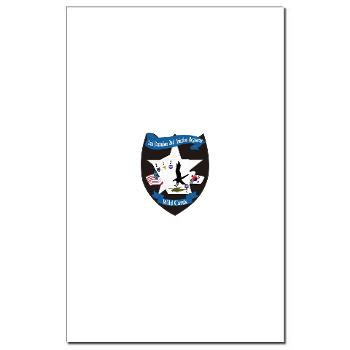 2BA2AR - M01 - 02 - DUI - 2nd Bn (Assault) - 2nd Avn Regt - Mini Poster Print