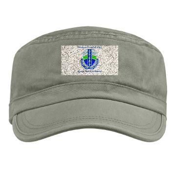 2BRCTSTB - A01 - 01 - DUI - 2nd BCT - Special Troops Bn with Text - Military Cap