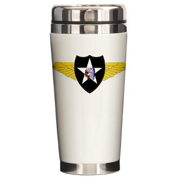 2CAB - M01 - 03 - SSI - 2nd CAB Ceramic Travel Mug
