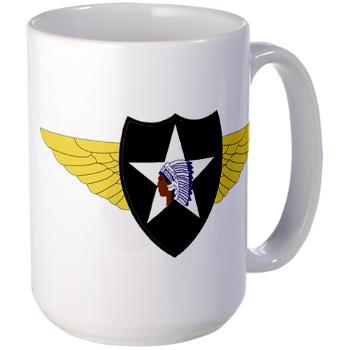 2CAB - M01 - 03 - SSI - 2nd CAB Large Mug