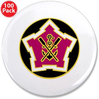 "2EB - M01 - 01 - DUI - 2nd Engineer Battalion 3.5"" Button (100 pack)"