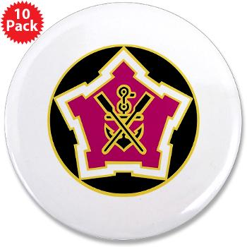 "2EB - M01 - 01 - DUI - 2nd Engineer Battalion 3.5"" Button (10 pack)"