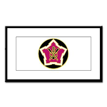 2EB - M01 - 02 - DUI - 2nd Engineer Battalion Small Framed Print