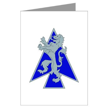2HBCTDB - M01 - 02 - DUI - 2nd HBCT - Dagger Brigade Greeting Cards (Pk of 10)