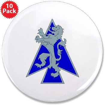 "2HBCTDB - M01 - 01 - DUI - 2nd HBCT - Dagger Brigade 3.5"" Button (10 pack)"