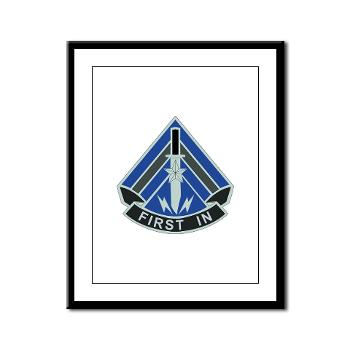 2HBCTSTB - M01 - 02 - DUI - 2nd BCT - Special Troops Bn - Framed Panel Print