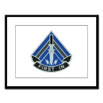 2HBCTSTB - M01 - 02 - DUI - 2nd BCT - Special Troops Bn - Large Framed Print