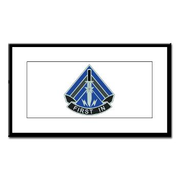 2HBCTSTB - M01 - 02 - DUI - 2nd BCT - Special Troops Bn - Small Framed Print