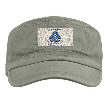 2HBCTSTB - A01 - 01 - DUI - 2nd BCT - Special Troops Bn with Text - Military Cap