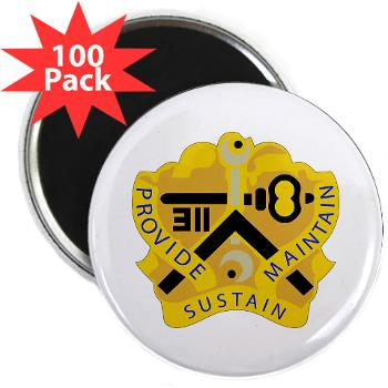 "311SC - A01 - 01 - DUI - 311th Sustainment Command - 2.25"" Magnet (100 pack)"