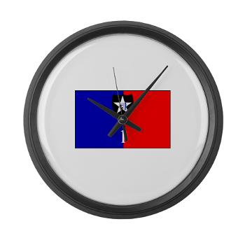 2ID1HBCT - M01 - 04 - DUI - 1st Heavy Brigade Combat Team - Large Wall Clock