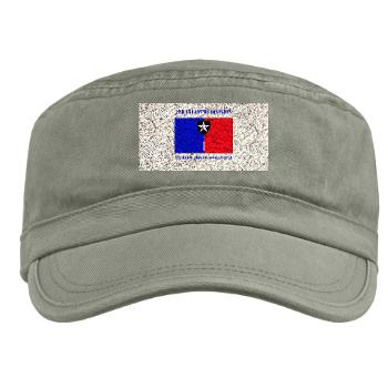 2ID1HBCT - A01 - 01 - DUI - 1st Heavy Brigade Combat Team with Text - Military Cap