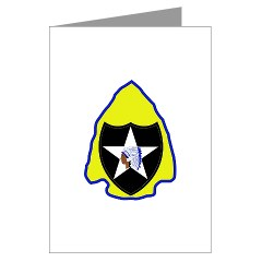 2ID3SBCT - M01 - 02 - DUI - 3rd Stryker Brigade Combat Team Greeting Cards (Pk of 10)