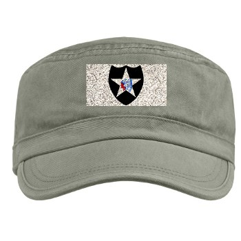 02ID - A01 - 01 - SSI - 2nd Infantry Division - Military Cap