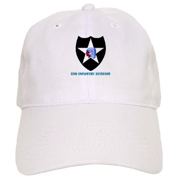 02ID - A01 - 01 - SSI - 2nd Infantry Division with text - Cap