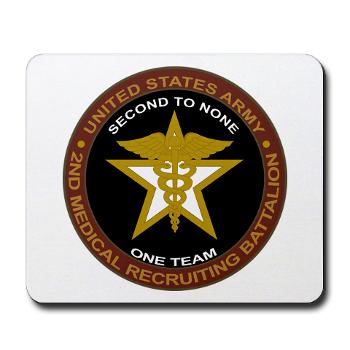 2MRB - M01 - 04 - DUI - 2nd Medical Recruiting Battalion (Gladiators) - Mousepad