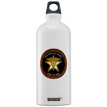 2MRB - M01 - 04 - DUI - 2nd Medical Recruiting Battalion (Gladiators) - Sigg Water Bottle 1.0L